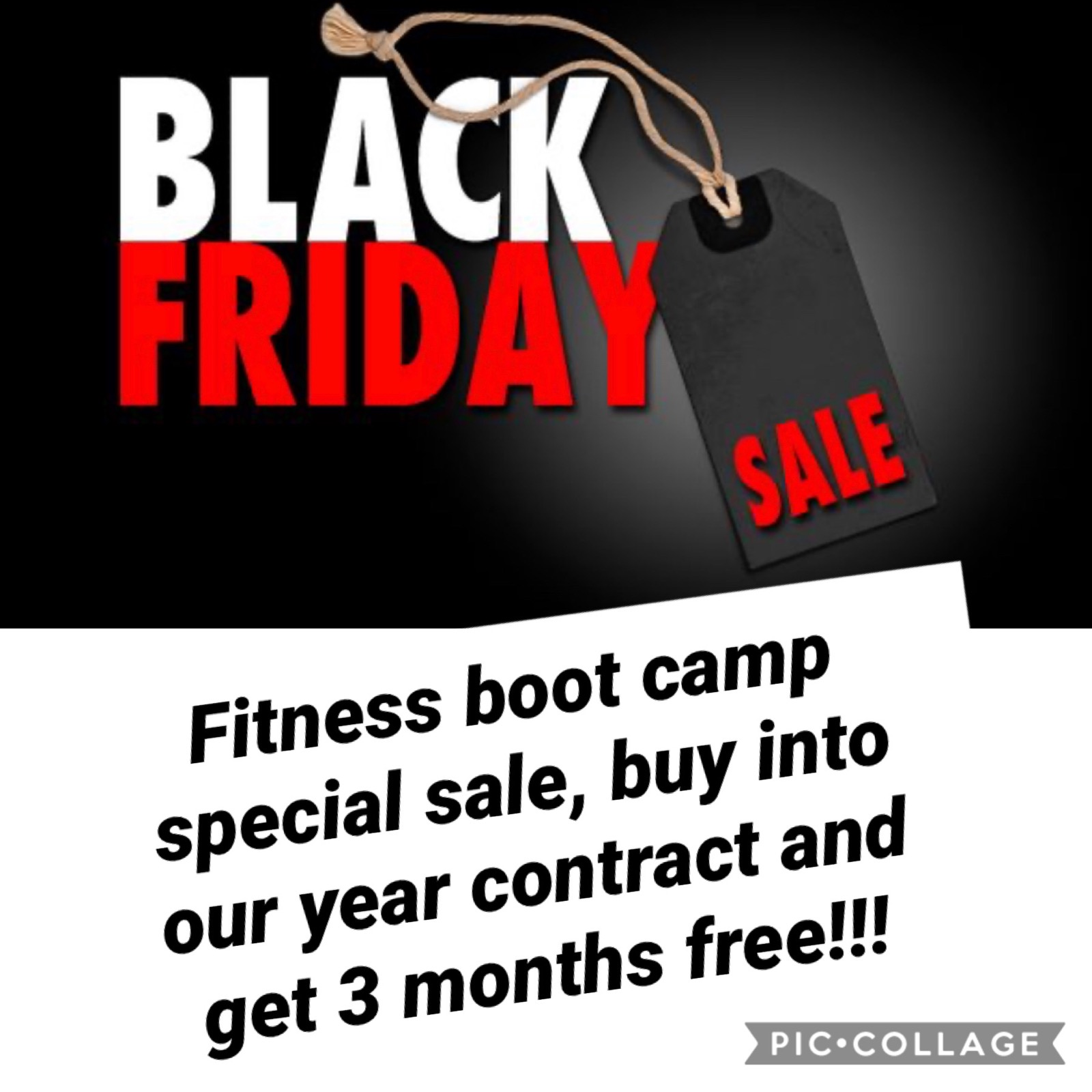 Black Friday Sale: Fitness Boot Camp