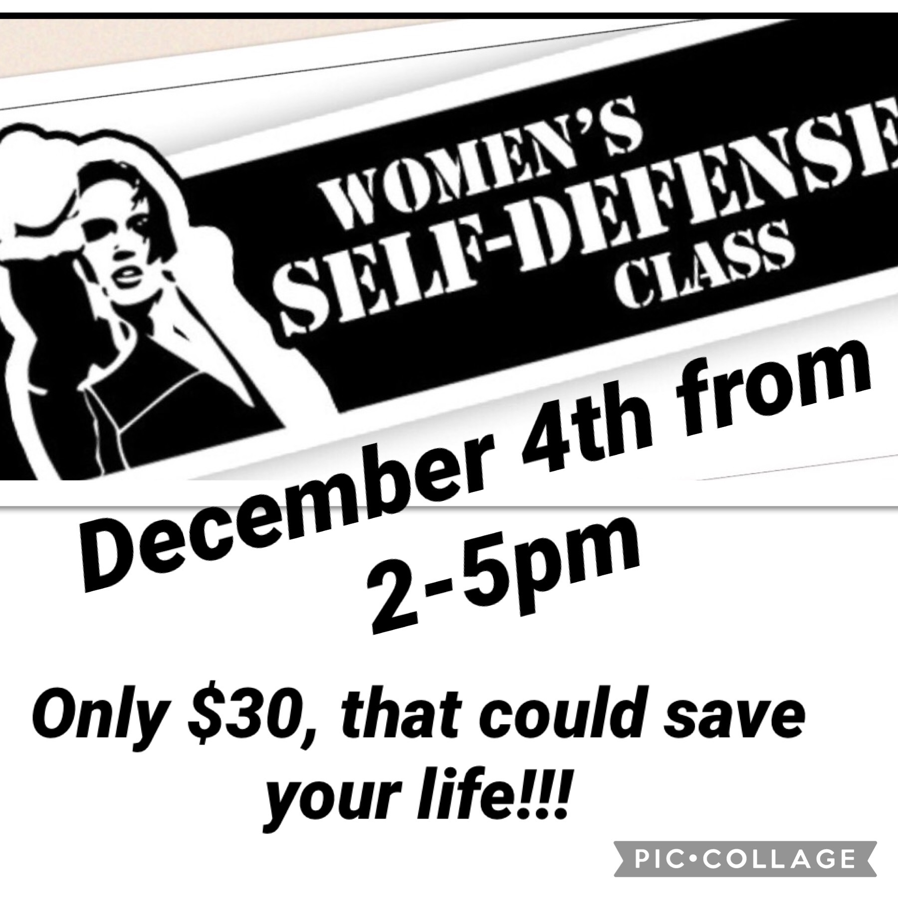 Women's Only Self Defense Workshop